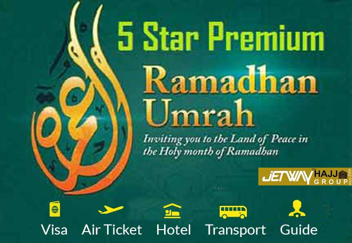 Ramadan Umrah package 5 star premium