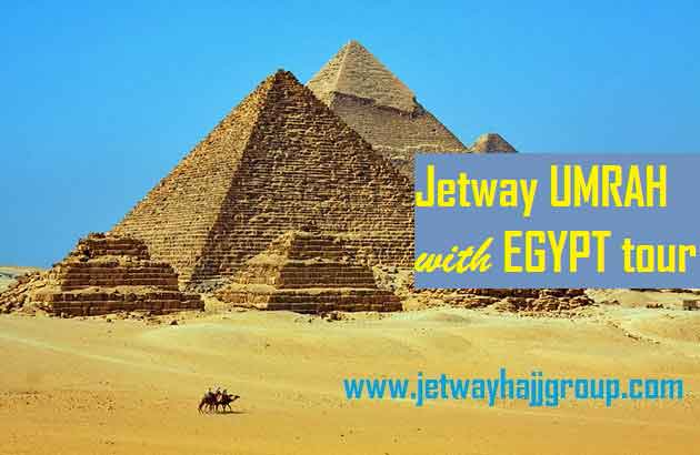 UMRAH PACKAGE + EGYPT  TOUR