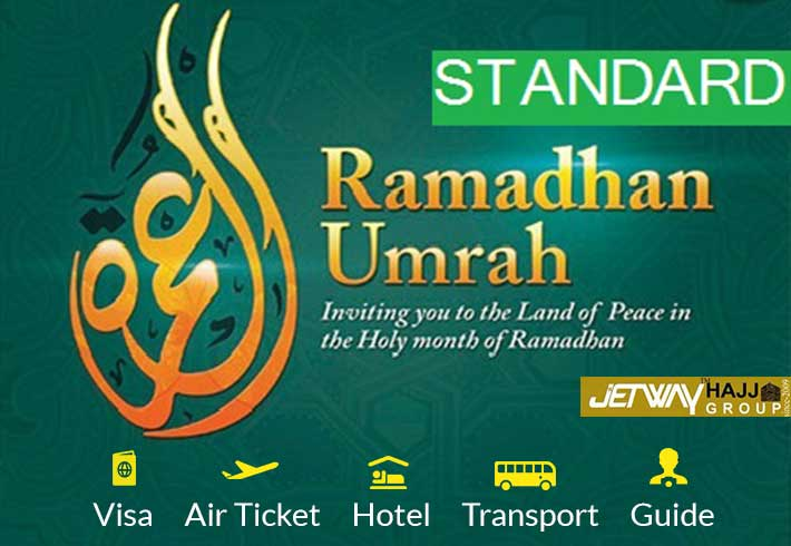 RAMADAN Umrah 15 days package 2021