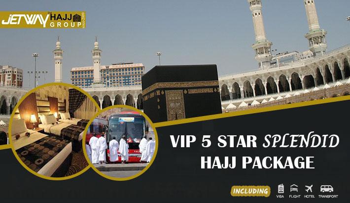 VIP 5 Star Splendid Hajj package 2020 offered by a BD Hajj agency